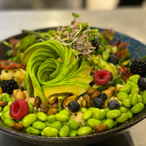 Vegetarische Bowl Lunch & Sweet im Hotel Wegner - the culinary art hotel