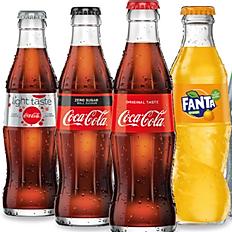 Cola, Fanta, Sprite...