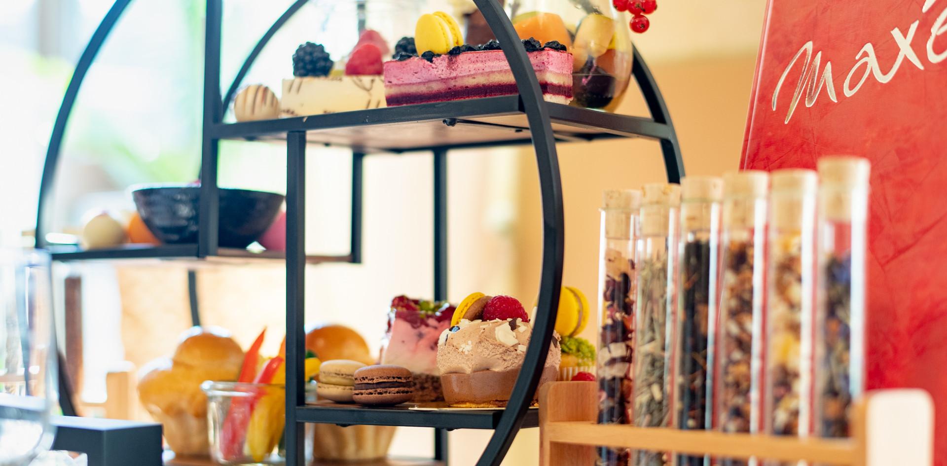 loser Tee in Reagenzglas Afternoon Tea - Hotel Wegner - The culinary Art Hotel