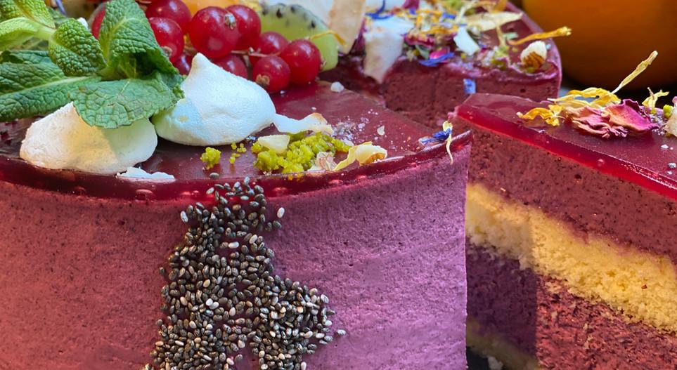 Beerentorte Lunch & Sweet - Hotel Wegner - The culinary Art Hotel