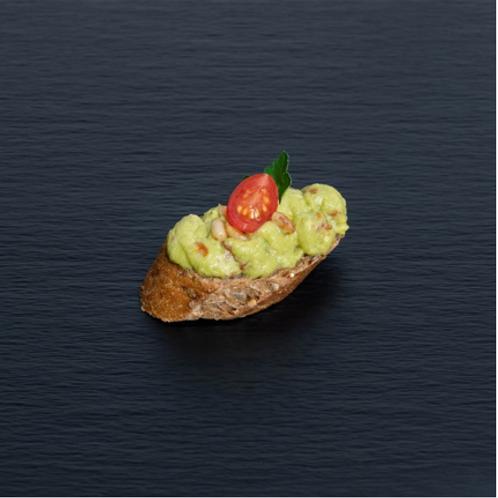 Bruschetta Avocado-Creme