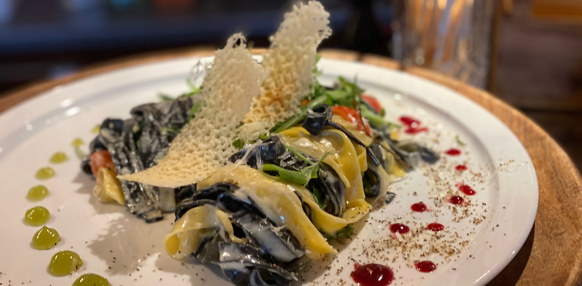 Pasta Parmigiano Hotel Wegner Restaurant Maxes