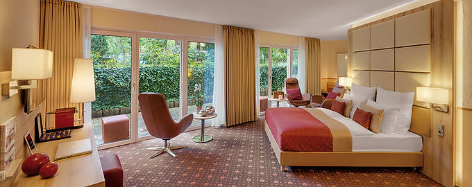 Suite in Villa 1 im Hotel Wegner - the culinary art hotel