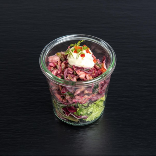 Rote Bete-Spitzkohl-Salat