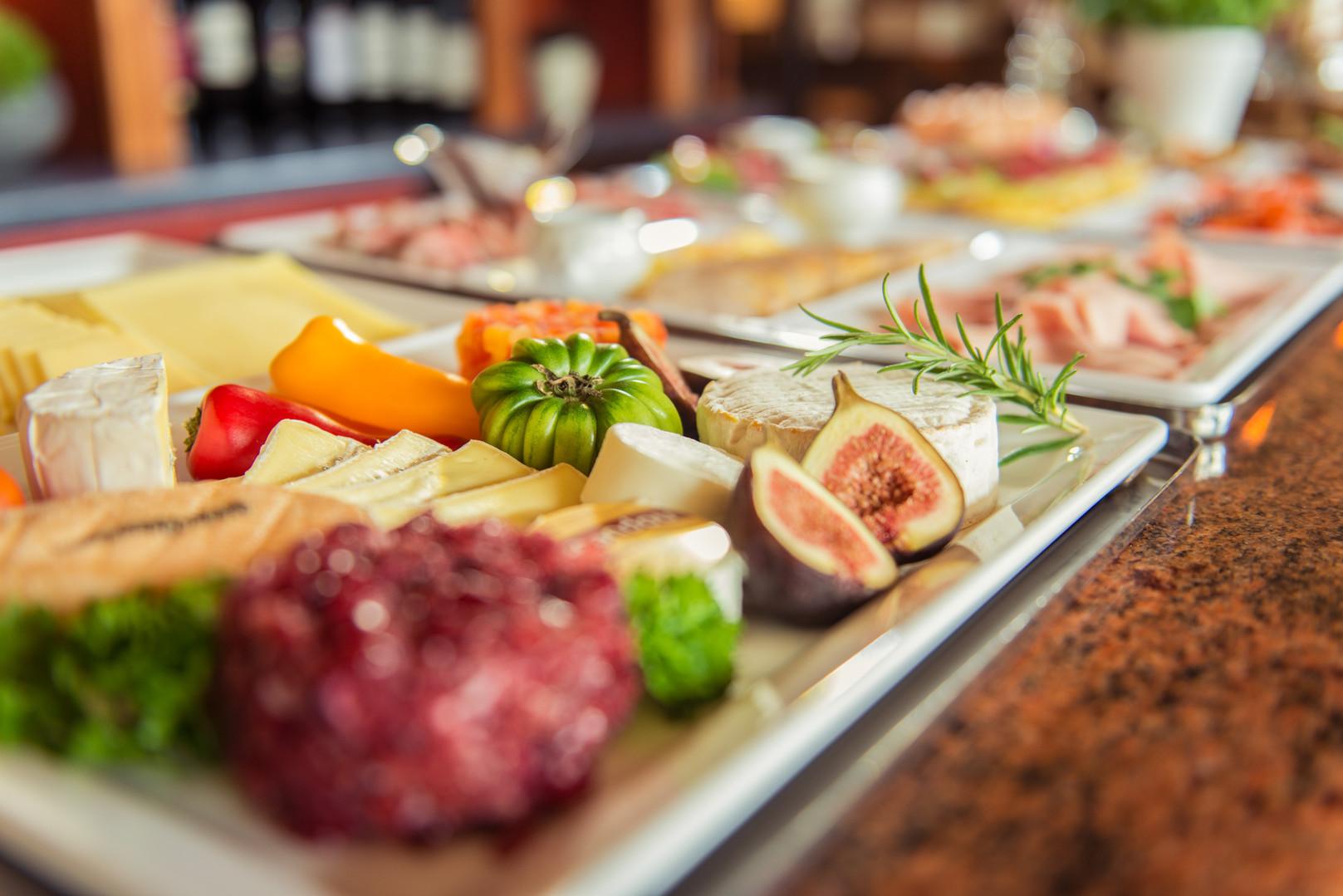 Käseplatten im Hotel Wegner - the culinary art hotel