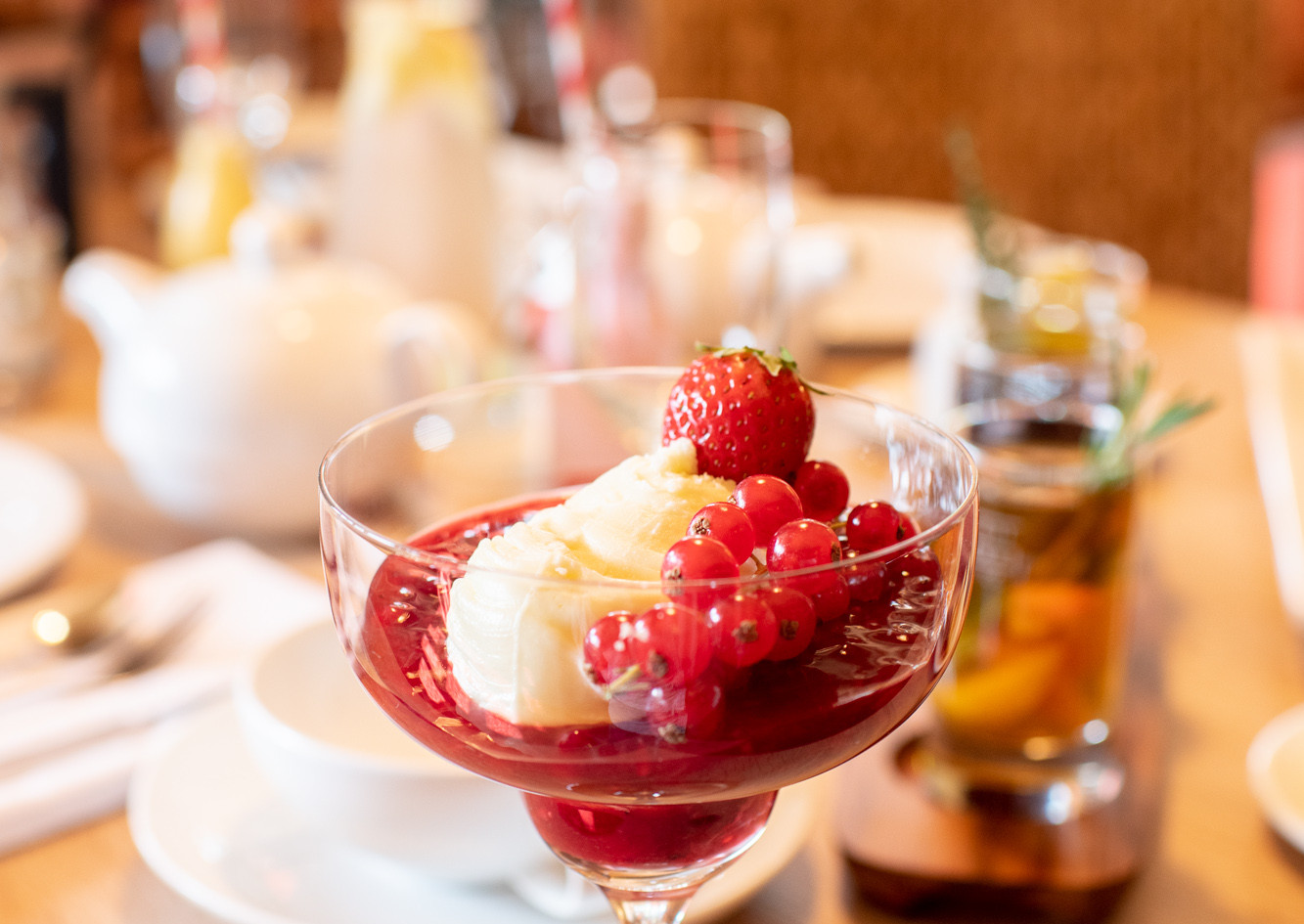 Süßes Dessert Afternoon Tea