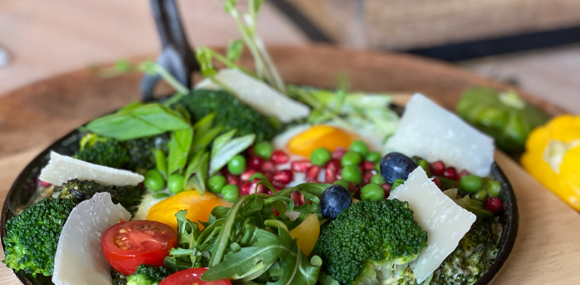 Heiße grüne Pfanne Frühstücks-Manufaktur - Hotel Wegner - The culinary Art Hotel