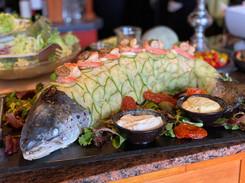 Lachs Lunch & Dinner im Hotel Wegner - the culinary art hotel