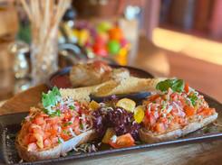 Bruchetta Lunch & Dinner im Hotel Wegner - the culinary art hotel
