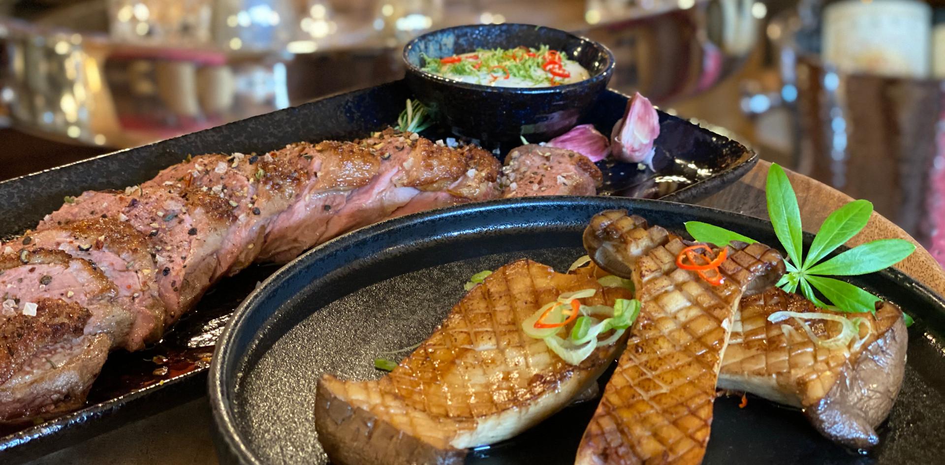 Fisch und Fleisch Restaurant Dinner - Hotel Wegner - The culinary Art Hotel