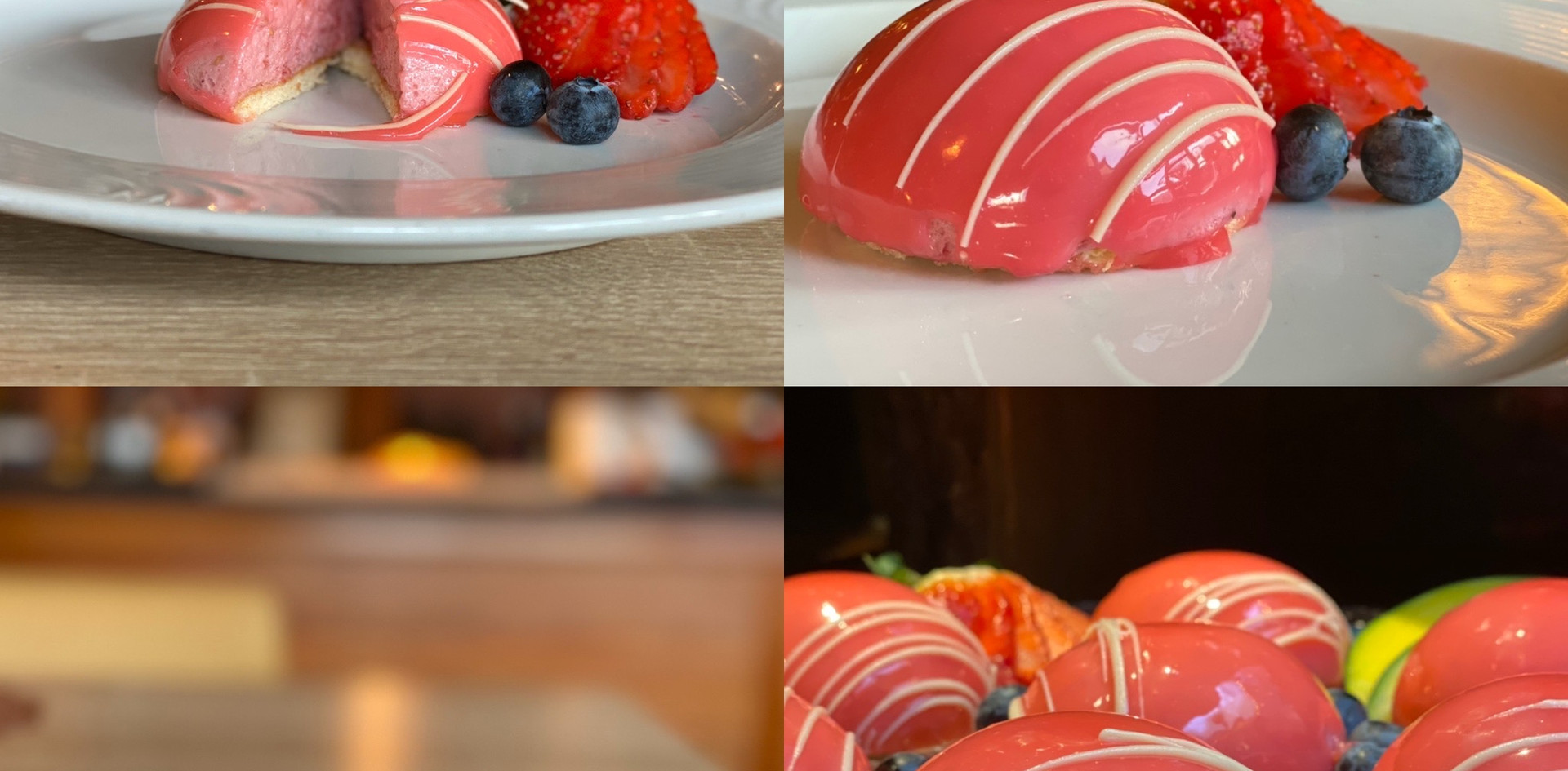 selbstgemachte Desserts Lunch & Sweet - Hotel Wegner - The culinary Art Hotel