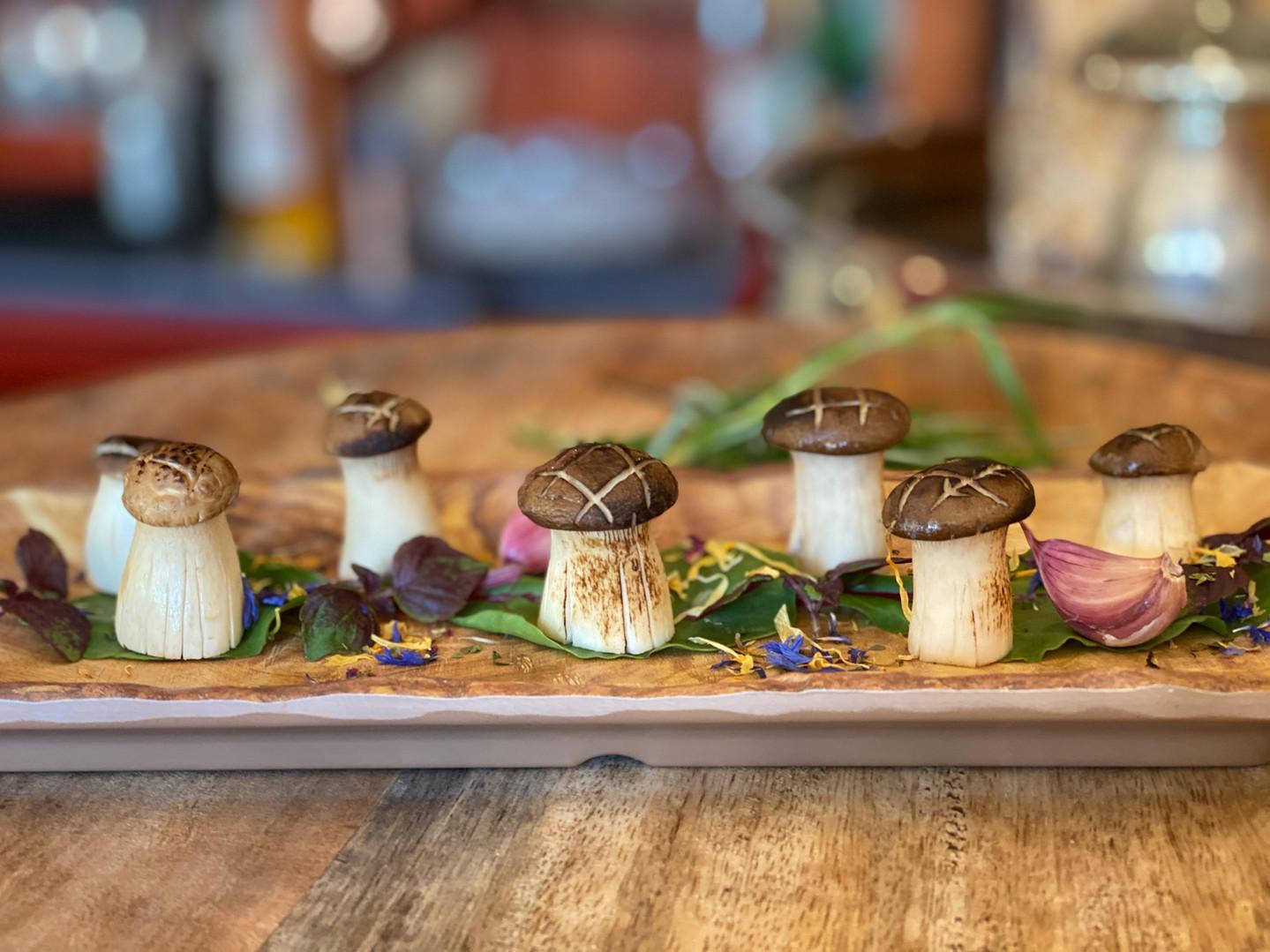 Pilze im Hotel Wegner - the culinary art hotel