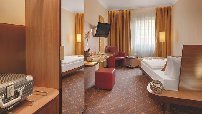 Einzelzimmer Standard im Hotel Wegner - the culinary art hotel