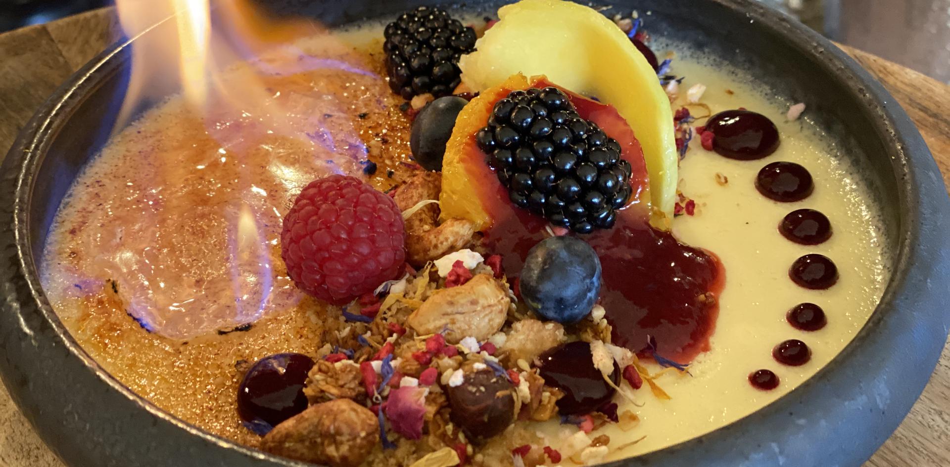 Dessert Restaurant Dinner - Hotel Wegner - The culinary Art Hotel