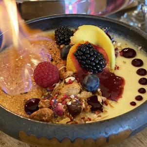 heißes Dessert Lunch & Dinner im Hotel Wegner - the culinary art hotel