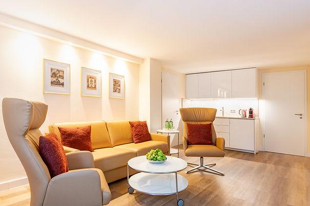 Suite in Villa 2 im Hotel Wegner - the culinary art hotel
