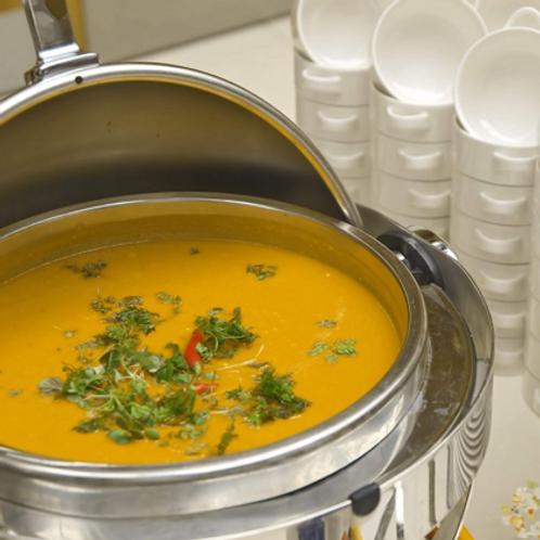 Süßkartoffel-Curry-Suppe