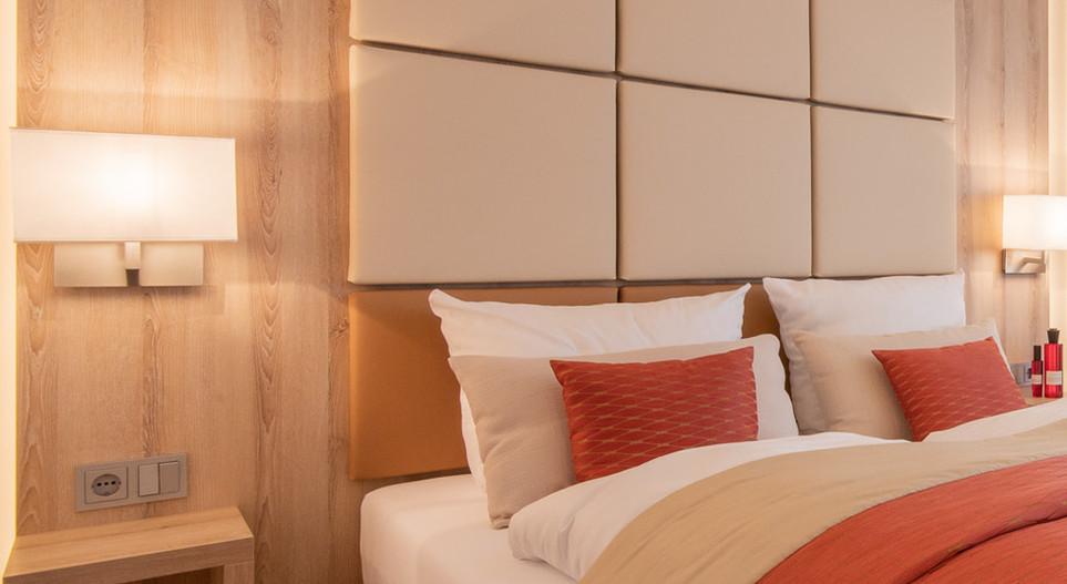 Bett DZ Villa 2 Hotel Wegner - The culinary Art Hotel