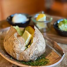 Ofenkartoffel mit Butter...