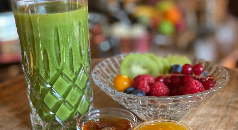 Grüner Smoothie Frühstücks-Manufaktur - Hotel Wegner - The culinary Art Hotel