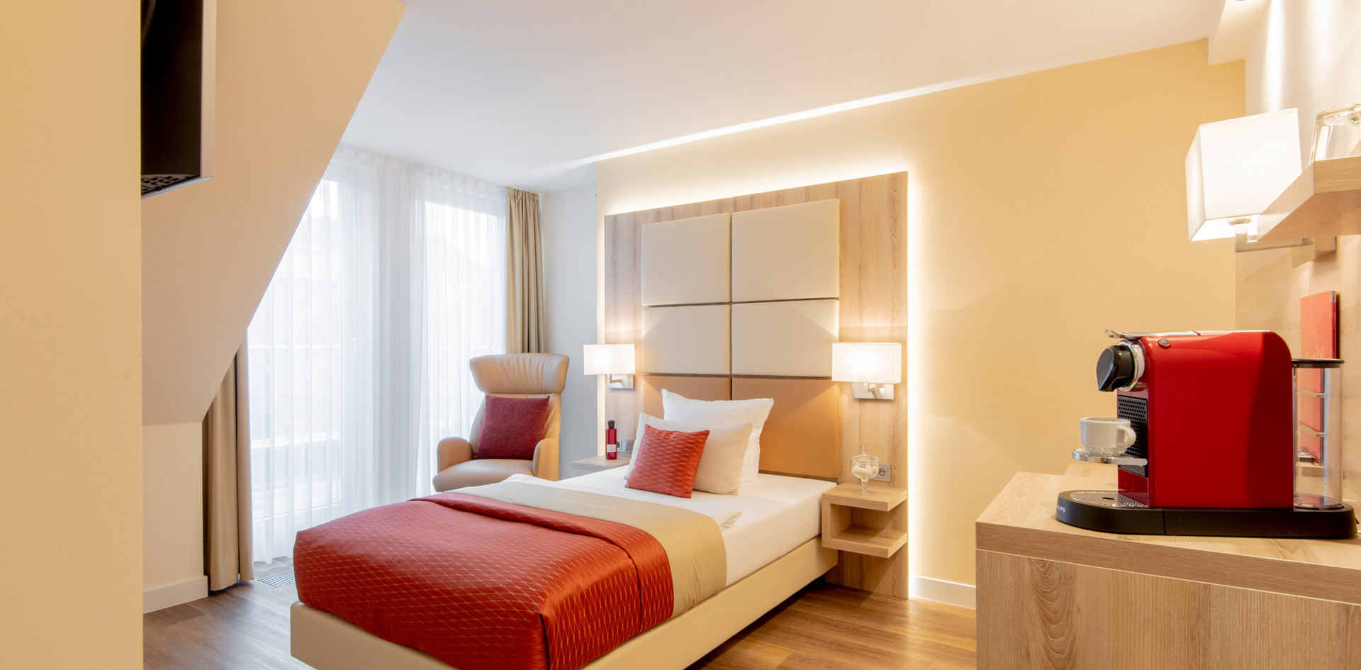 Einzelzimmer Villa2 EZ Villa 2 Hotel Wegner - The culinary Art Hotel