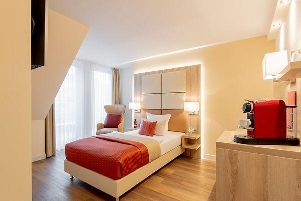 Einzelzimmer Villa 2 im Hotel Wegner - the culinary art hotel