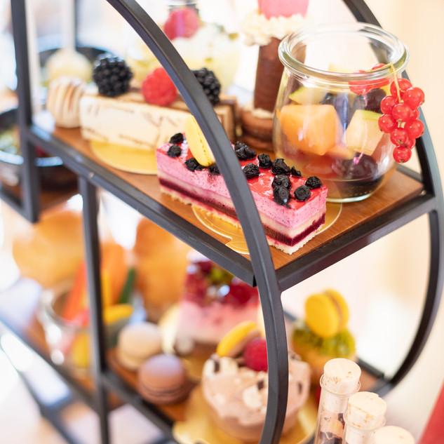 Etagere Afternoon Tea im Hotel Wegner - the culinary art hotel