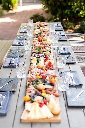Speisen im Hotelgarten im Hotel Wegner - the culinary art hotel