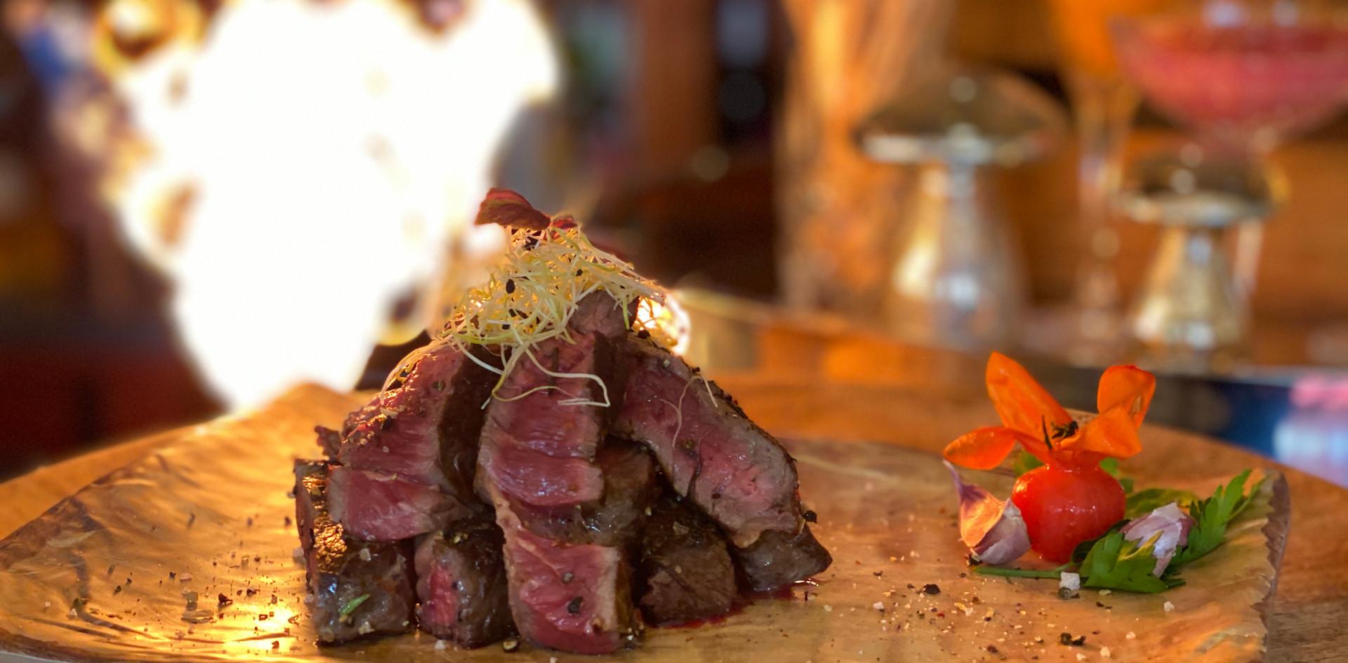 Rumpsteak Restaurant Dinner - Hotel Wegner - The culinary Art Hotel
