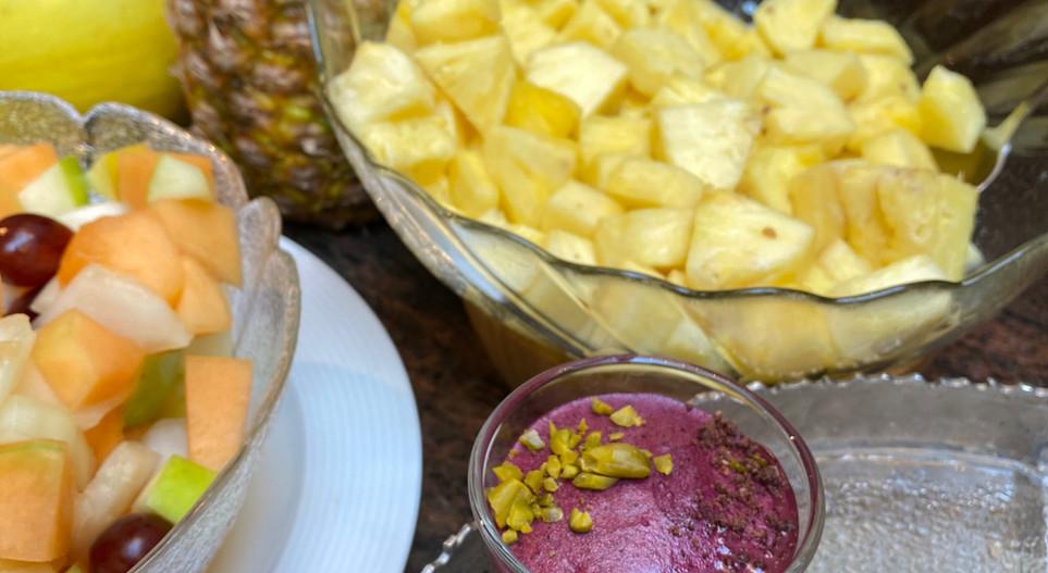 Obstsalat Lunch & Sweet - Hotel Wegner - The culinary Art Hotel