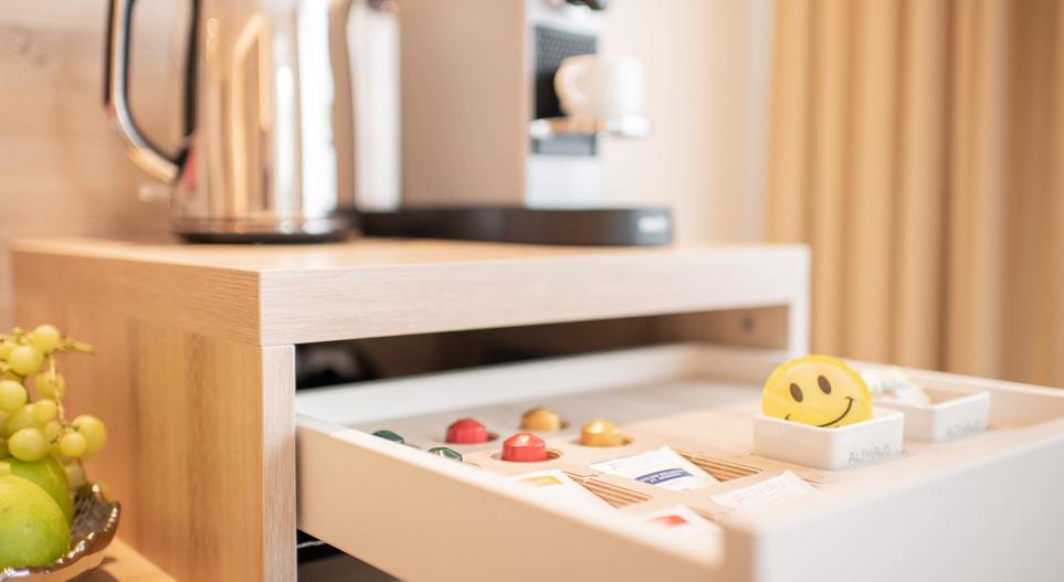 Kaffee/Teestation Villa Hotel Wegner