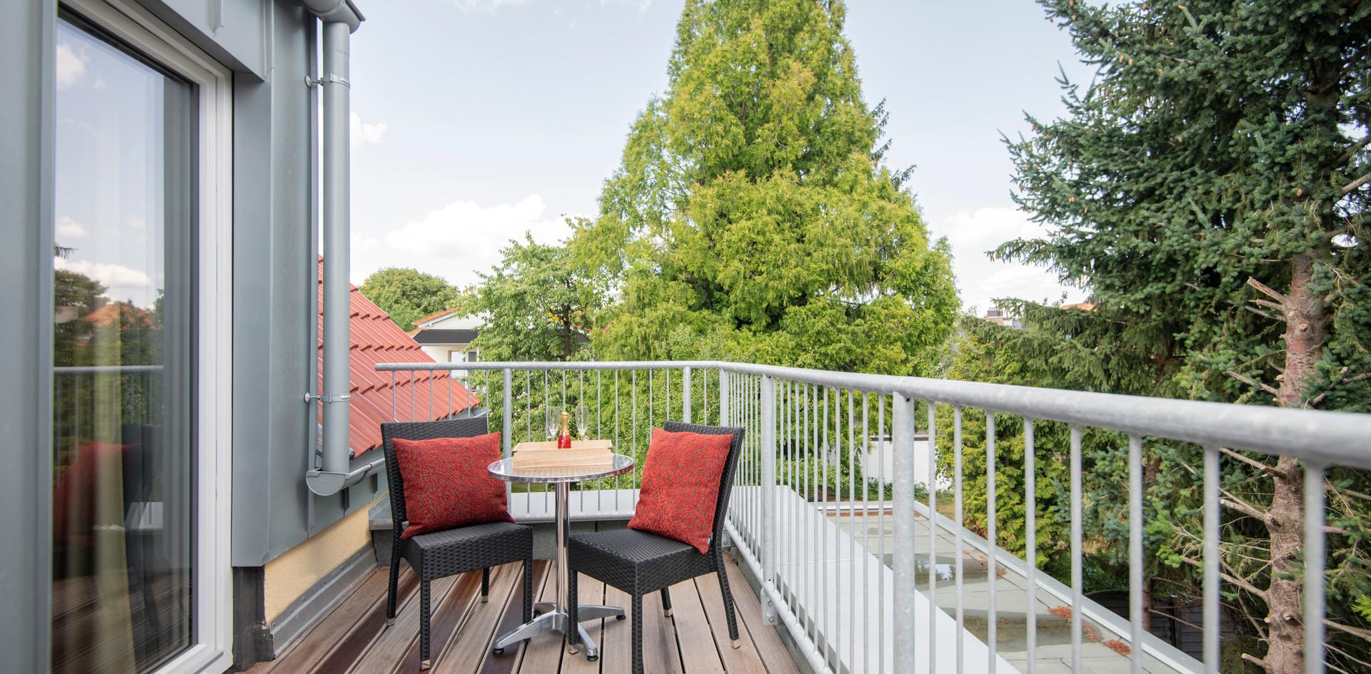 Balkon Villa 2 Hotel Wegner