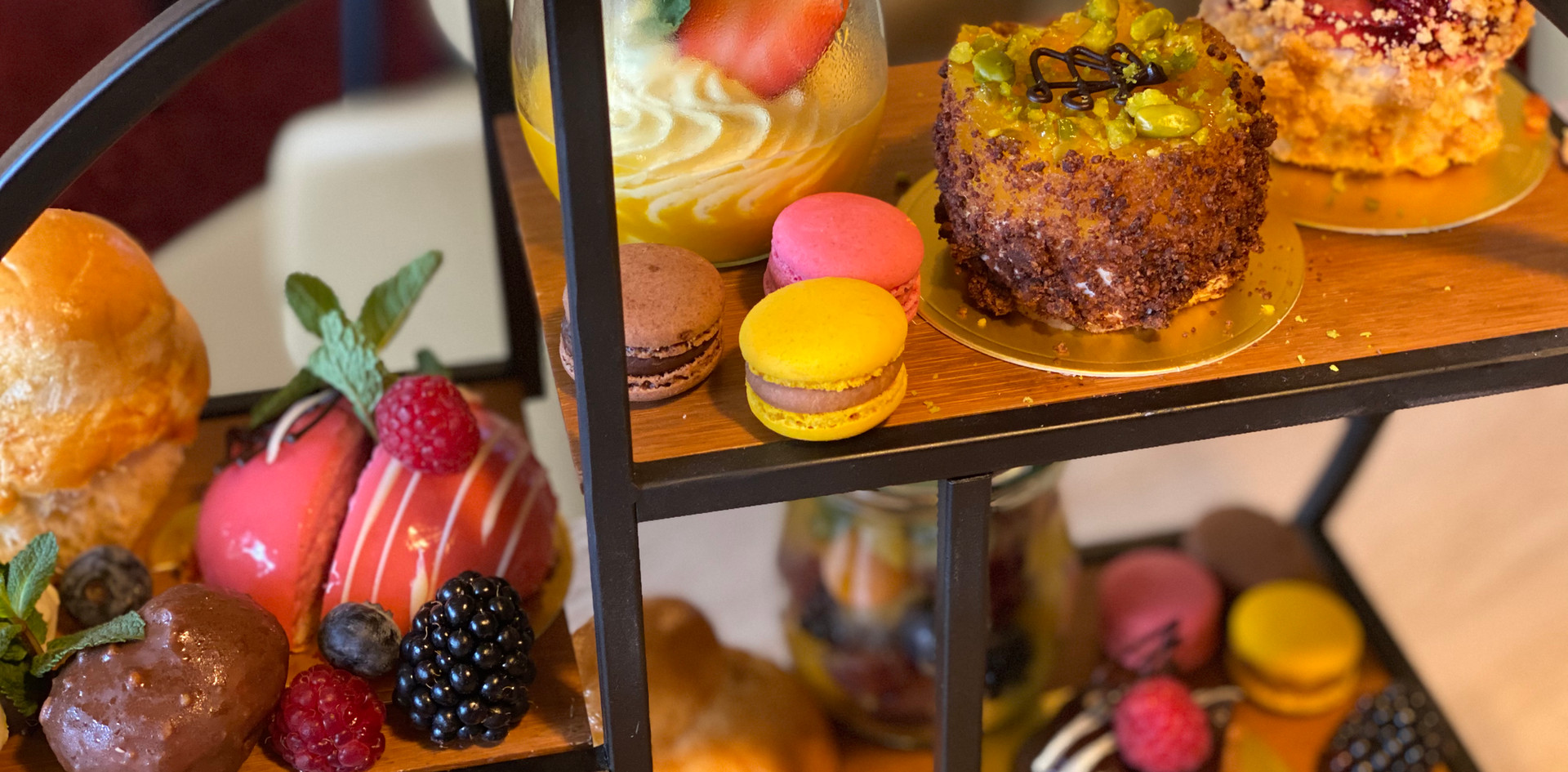 Etagere Afternoon Tea - Hotel Wegner - The culinary Art Hotel