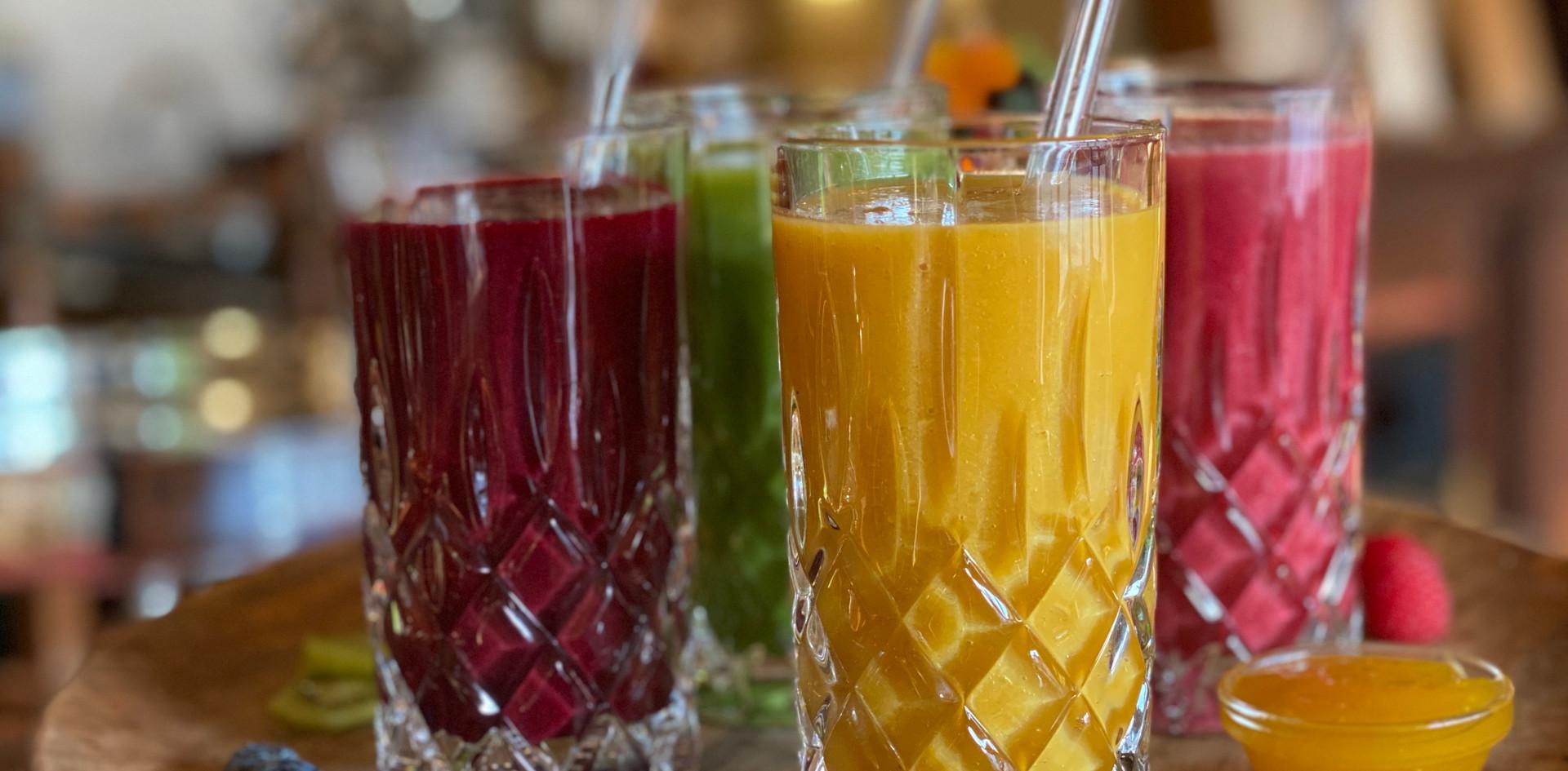 Smoothies Frühstücks-Manufaktur - Hotel Wegner - The culinary Art Hotel