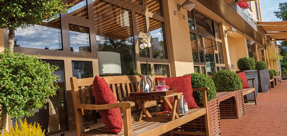 Außenbereich Restaurant Max´es