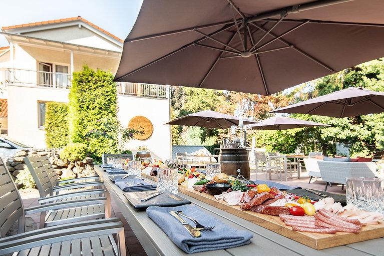 Gartenterrasse_Restaurant Max´es_Hotel Wegner the culinary art hotel
