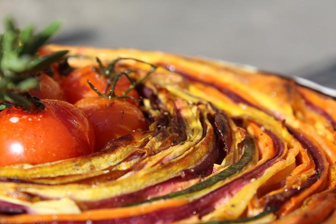 Gemüsequiche