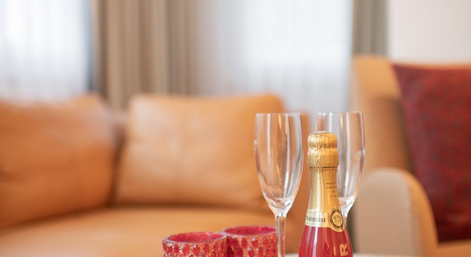 Sitzgruppe Villa 2 Hotel Wegner - The culinary Art Hotel