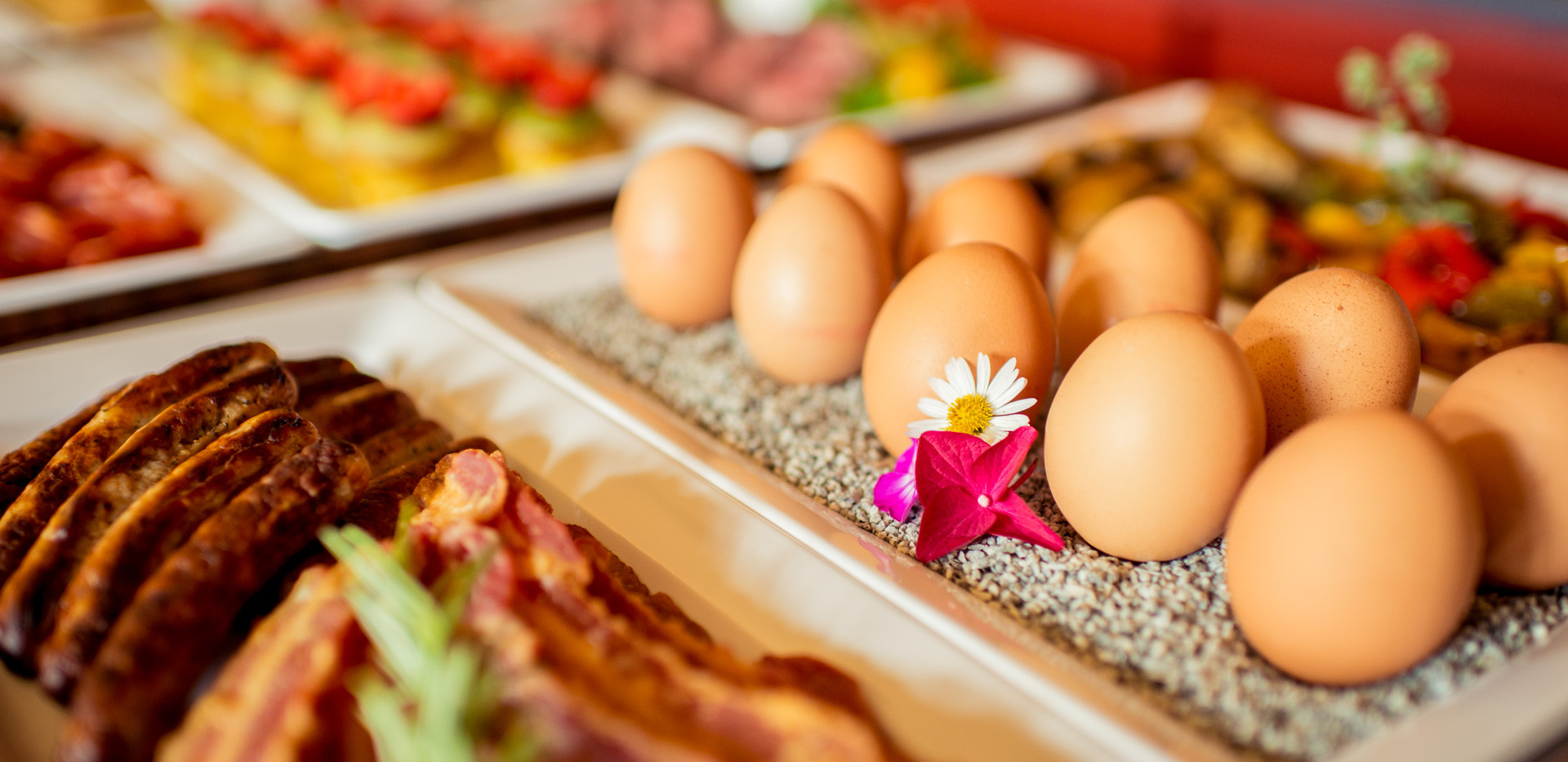 kleine Speisen am Buffet Frühstücks-Manufaktur