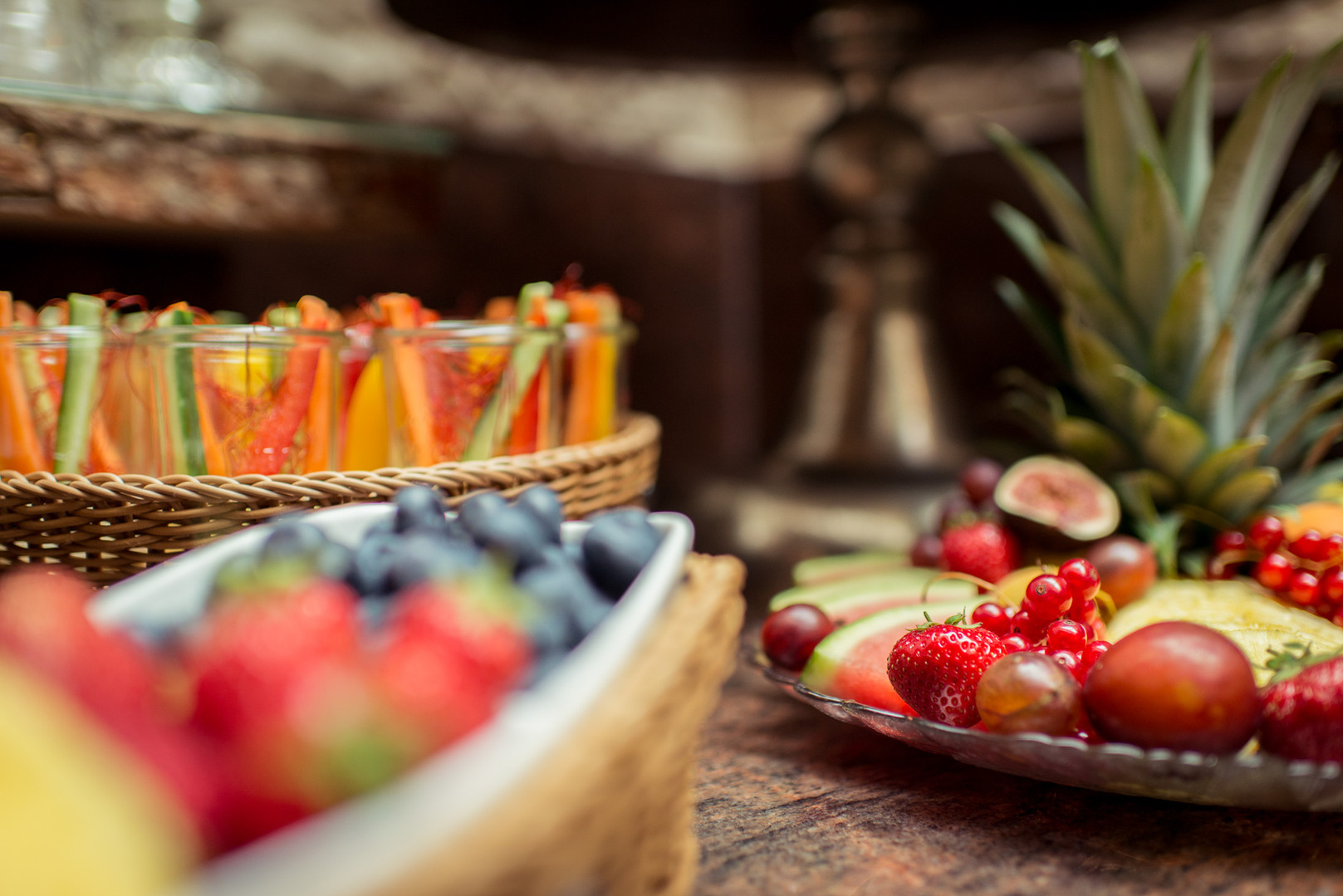 Obstplatte im Hotel Wegner - the culinary art hotel