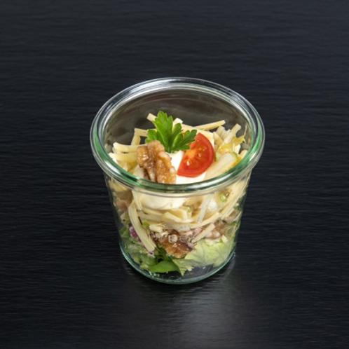 Bergkäse-Apfel-Salat