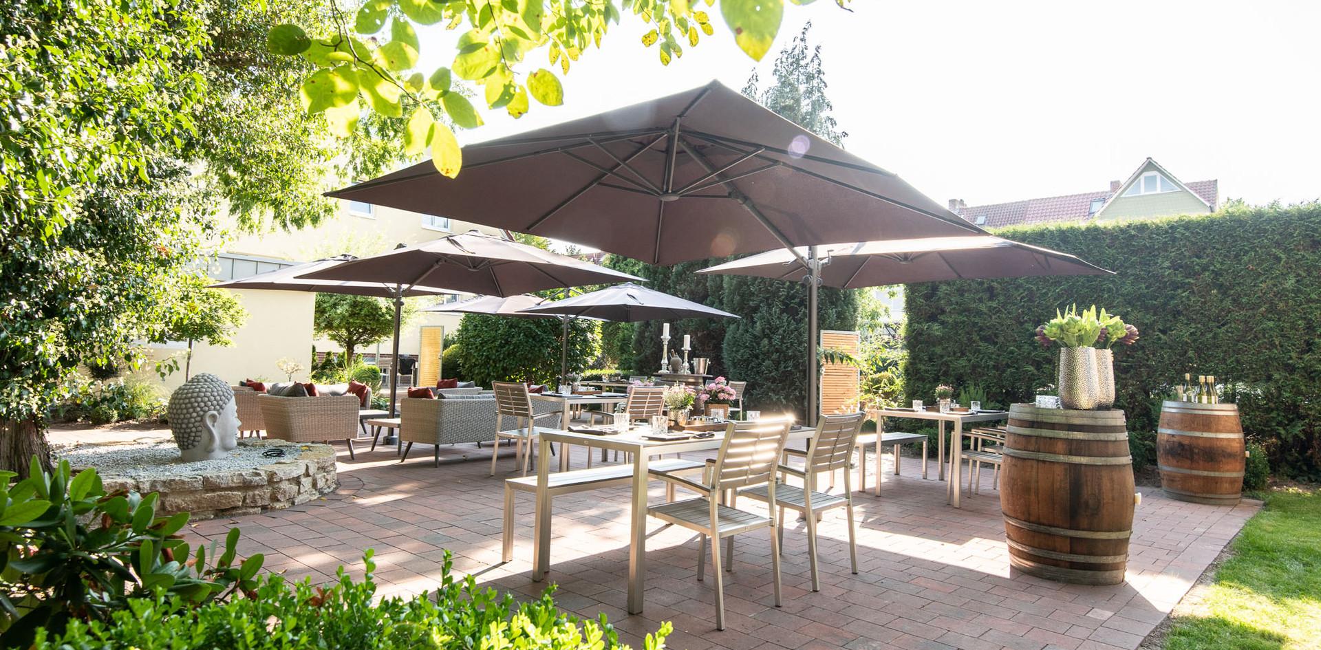 Gartenterrasse Hotel Wegner - the culinary art hotel