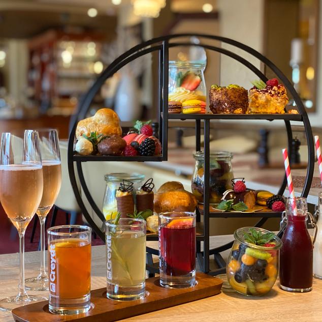 Afternoon Tea im Hotel Wegner - the culinary art hotel