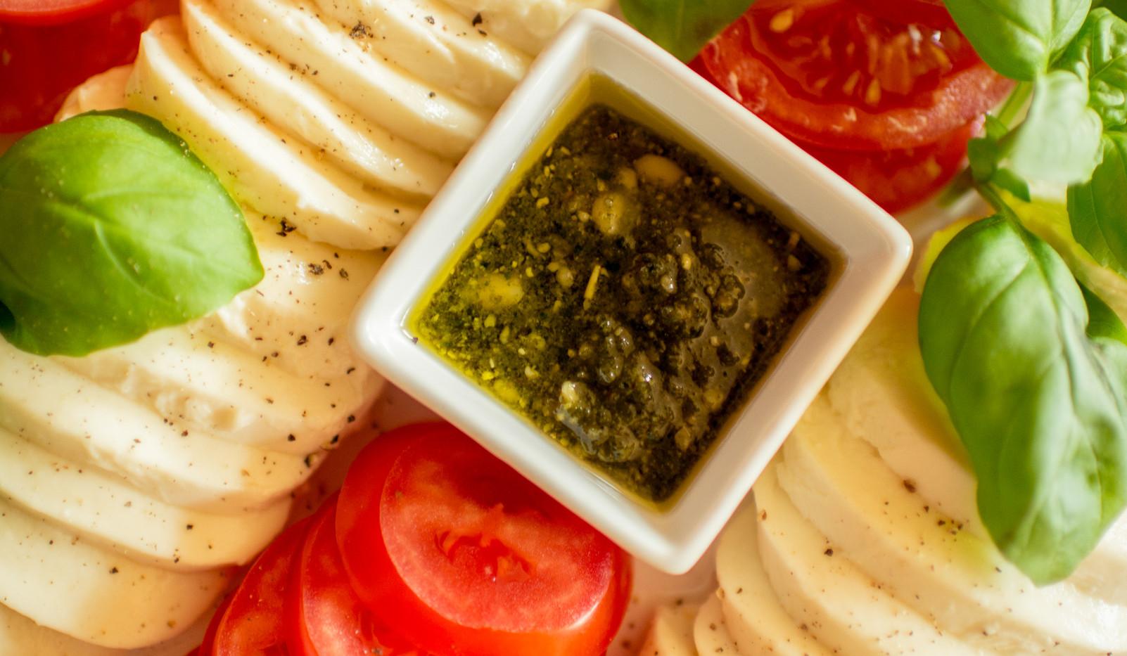 Mozarella und Tomate Frühstücks-Manufaktur