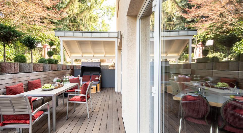 Terrasse Suite Villa 1 Hotel Wegner - The culinary Art Hotel