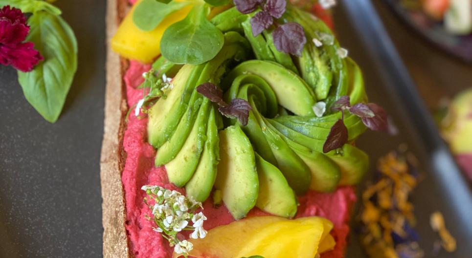 Rote Beete Stulle Frühstücks-Manufaktur - Hotel Wegner - The culinary Art Hotel