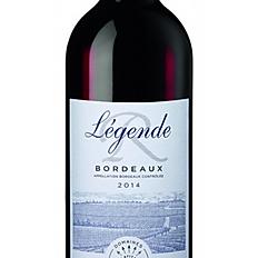 Bordeaux Rouge - Légende