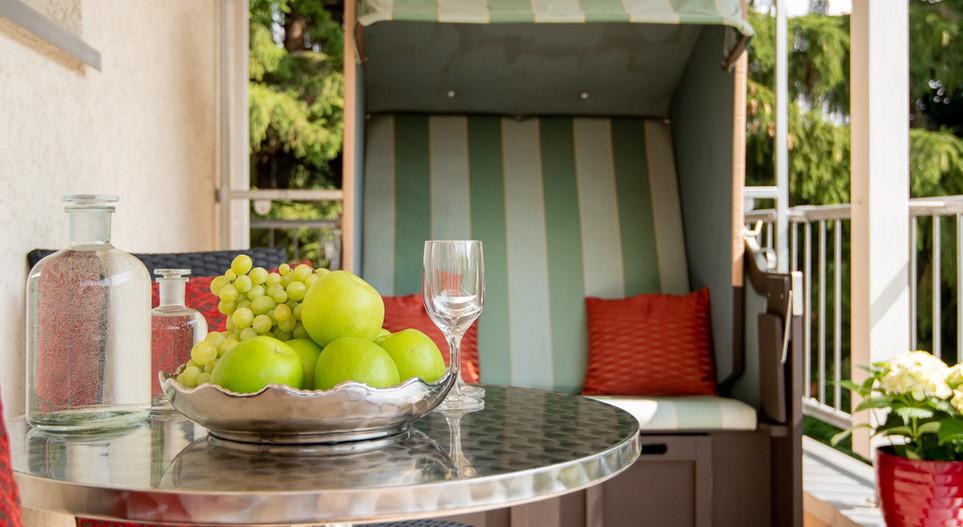 Zimmer mit Balkon Villa 1 Hotel Wegner - The culinary Art Hotel