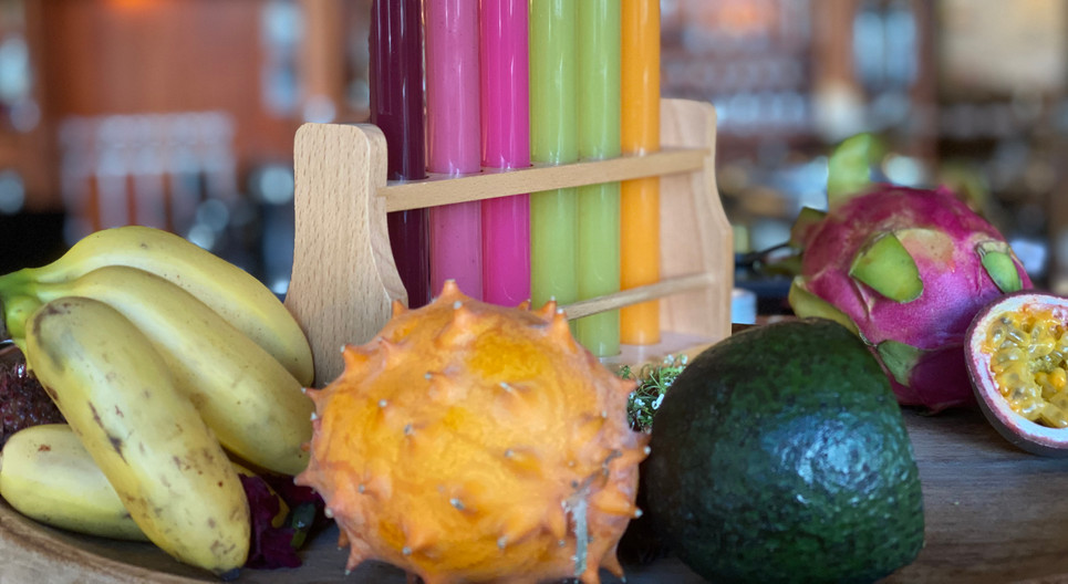 Smoothie tastingFrühstücks-Manufaktur - Hotel Wegner - The culinary Art Hotel