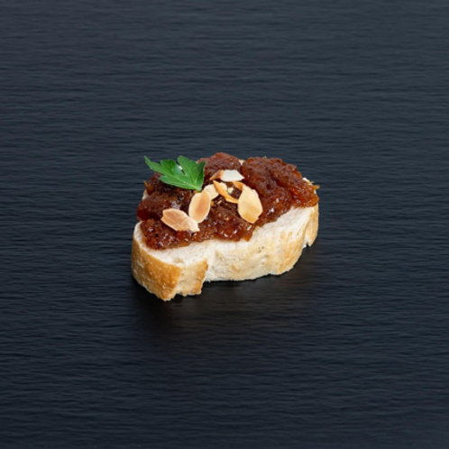 Bruschetta Aprikose-Chutney
